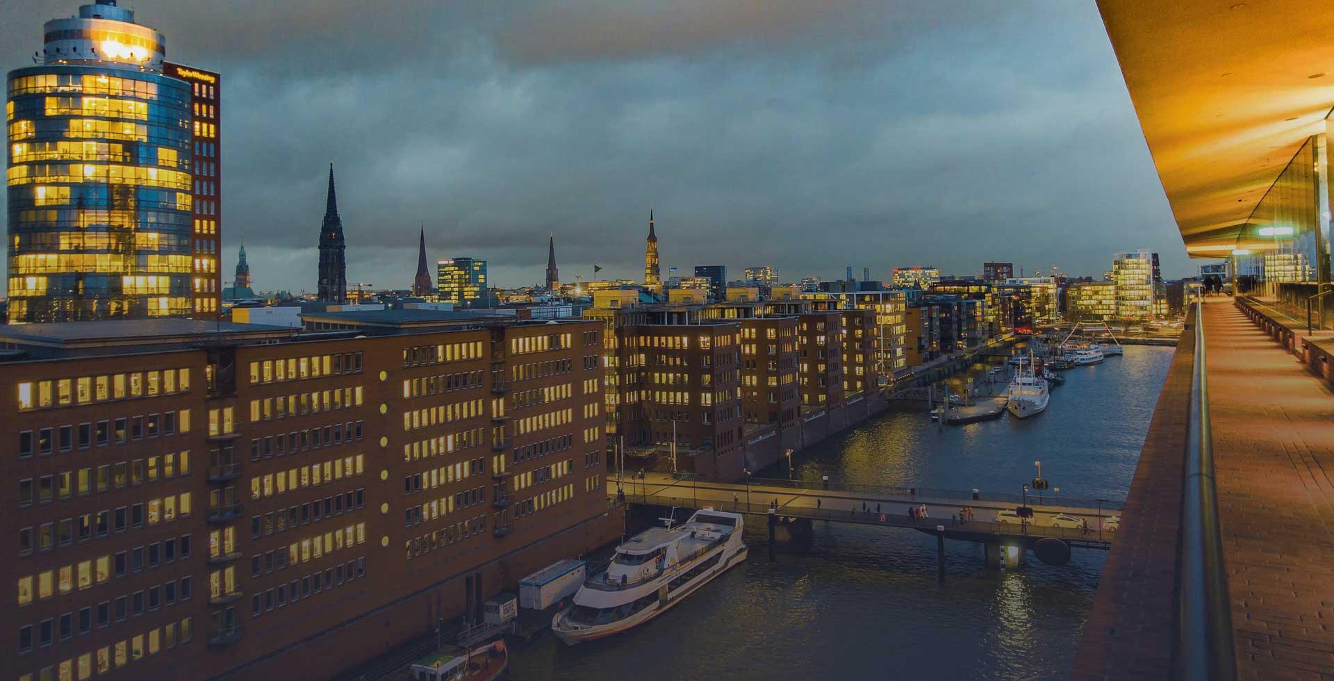 Панорама города 1